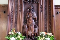 St Mary's  Reredos - The Good Shepherd
